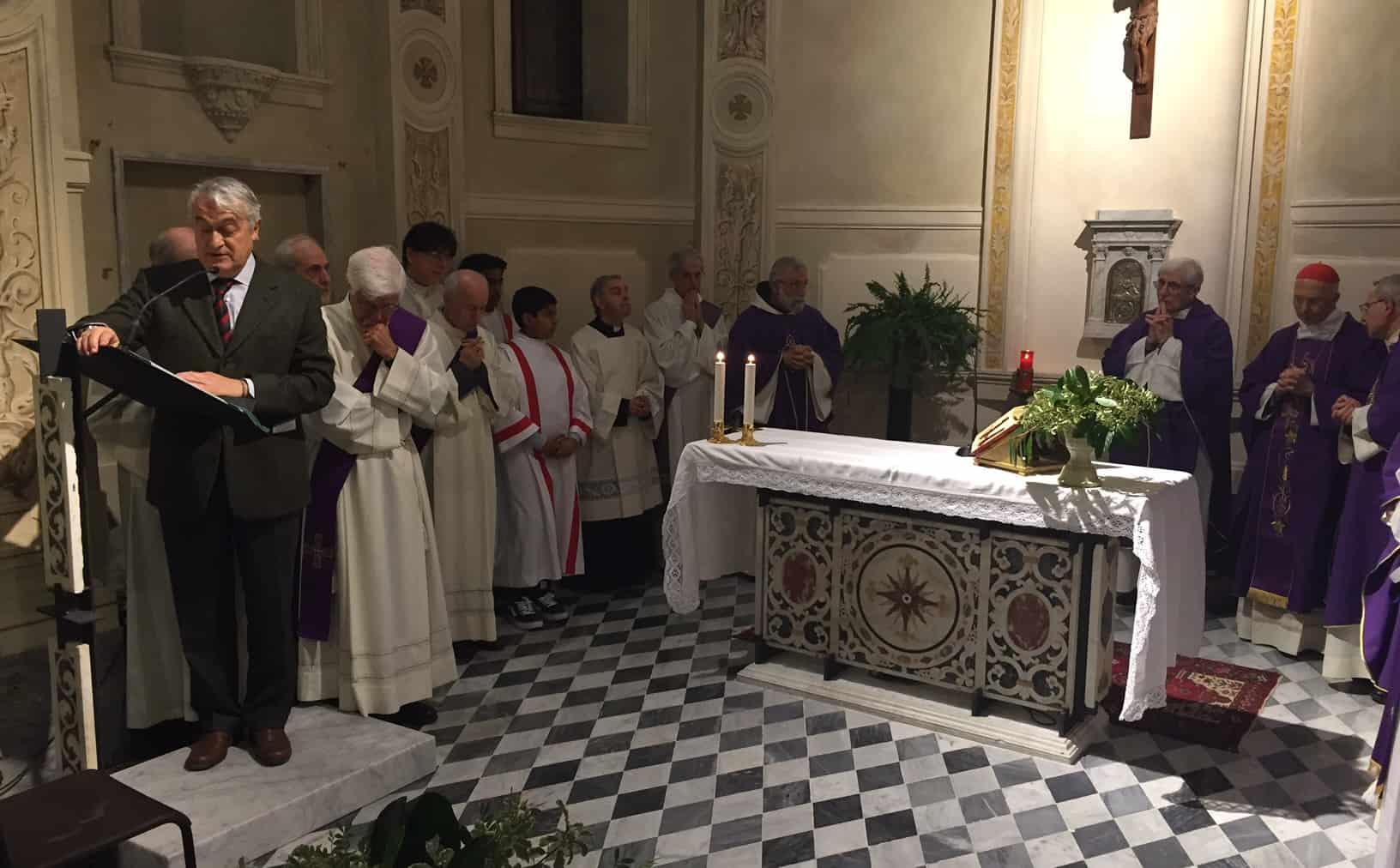 """Borgiani: Monastero è """"stare con"""""""
