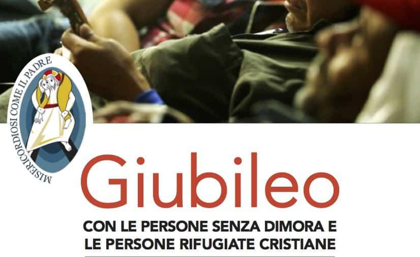 7 Novembre – Giubileo con le persone senza dimora e rifugiate cristiane