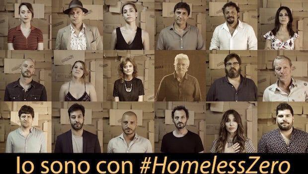 Io sono con #HomelessZero. Il video della campagna fio.PSD