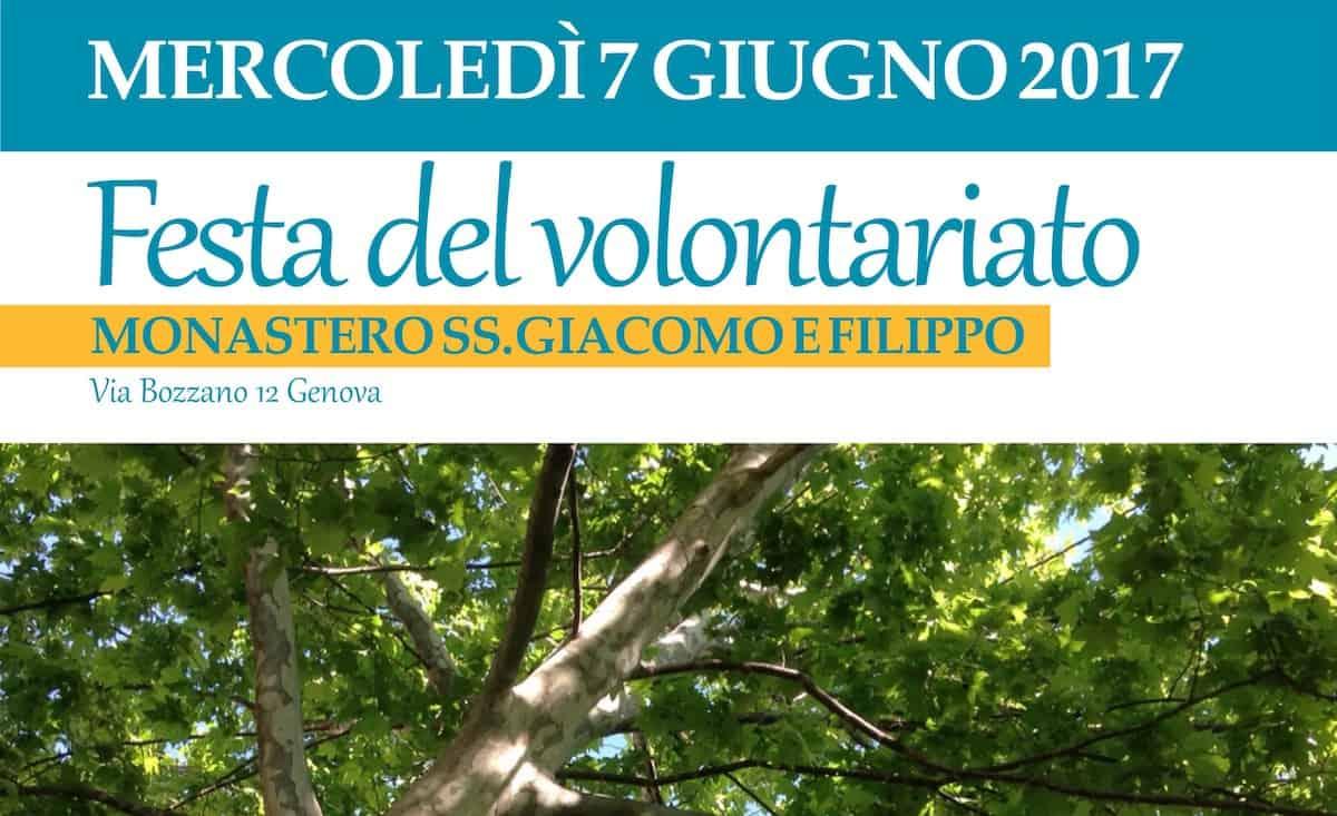Festa del volontariato – 7 giugno 2017