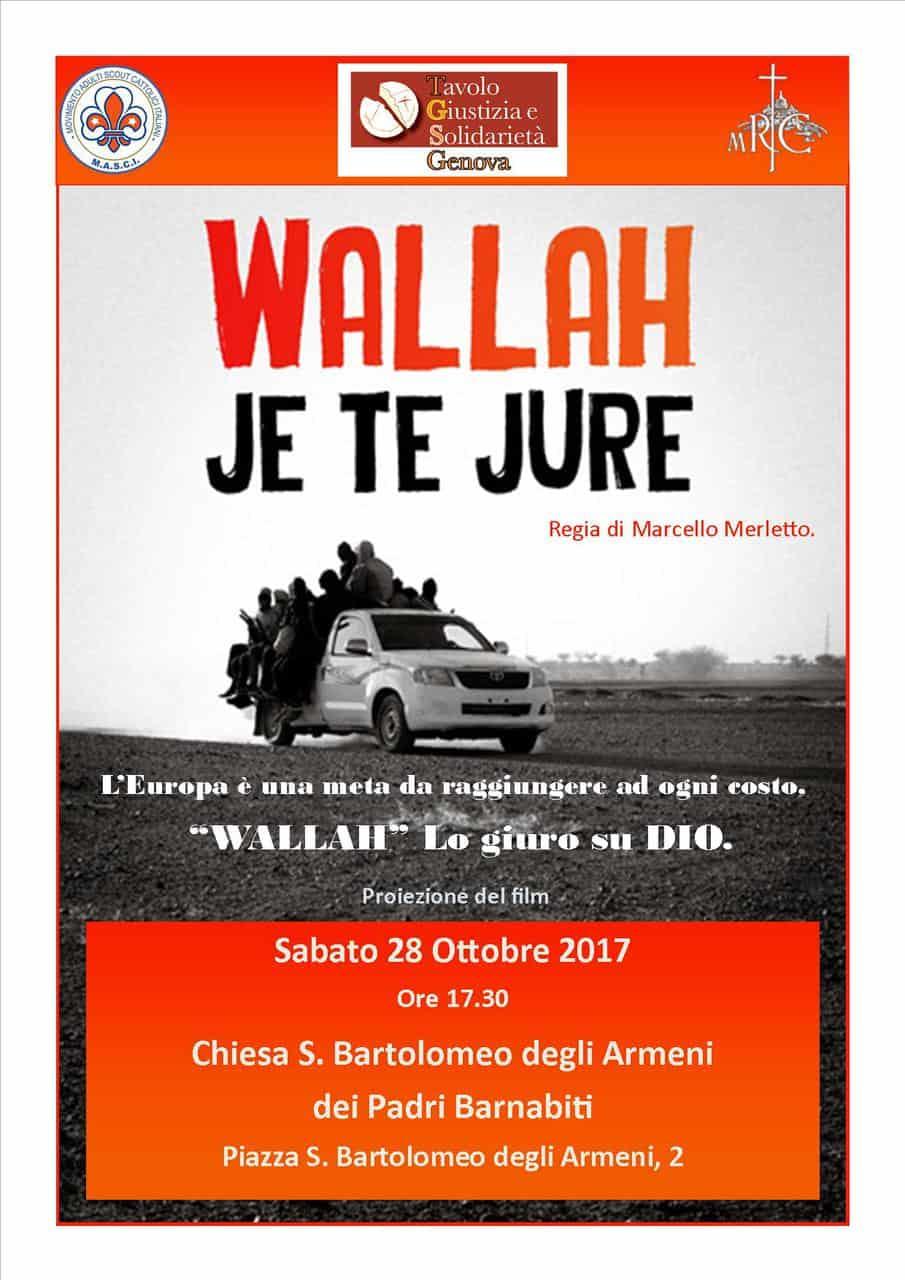 "28 Ottobre: le rotte migratorie in ""Wallah – Je te jure"""
