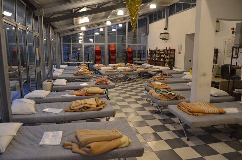Emergenza Freddo: i dati dell'accoglienza notturna in Casetta (al 5 Marzo)