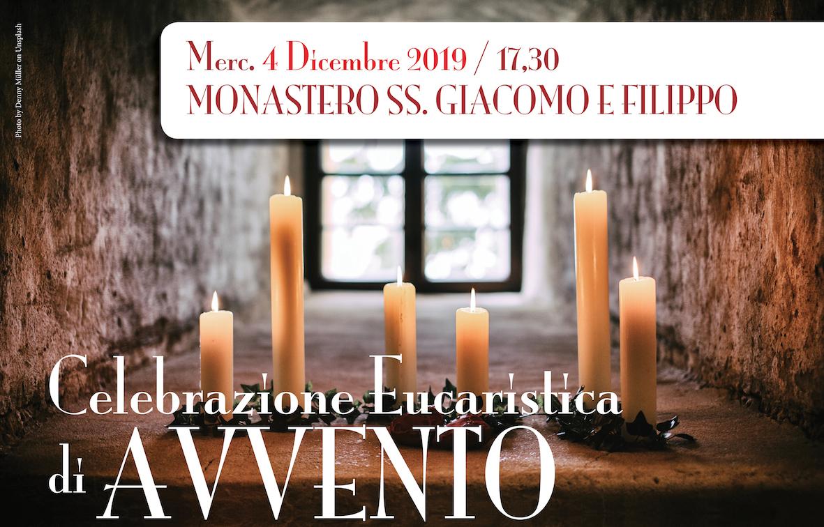 4 Dicembre: Celebrazione Eucaristica di Avvento al Monastero