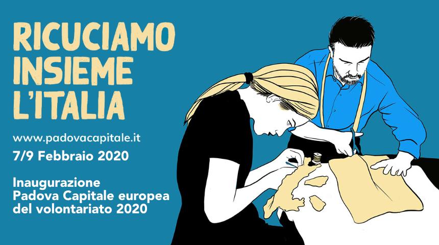 Padova capitale europea del volontariato 2020. Di che si… TRATTA!