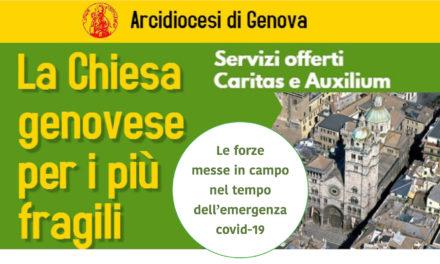 """Il Cittadino: """"Chiesa genovese per i più fragili – Caritas e Auxilium: i servizi offerti anche nell'emergenza sanitaria"""""""