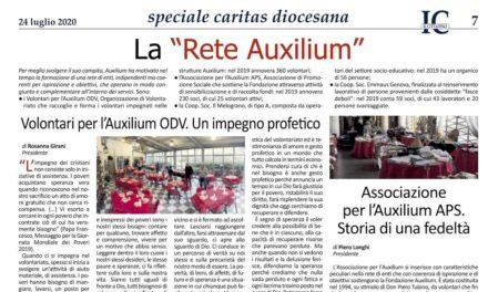 Il Cittadino – Speciale Caritas e Auxilium