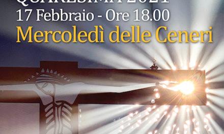 17 Febbraio, Mercoledì delle Ceneri al Monastero